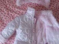 4 piece winter group all for $15 total. Pink faux fur