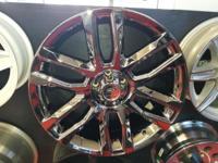 A new set of 18x8Platinum 252 PVD(Black Chrome