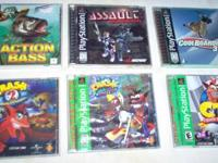 18 PLAYSTATION GAMES, $75 Takes ALL of Them! Action
