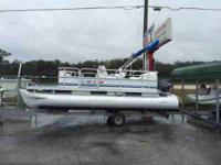 We have for sale a 18' pontoon boat with a trailer. It