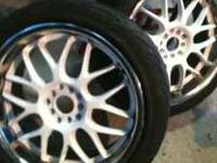 "18 "" rims in great shape.. Call . ---- Posted from"