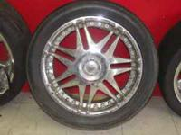 "LOW PROFILE 18"" RIMS SET OF 4 I HAVE TWO SET TO CHOOSE"