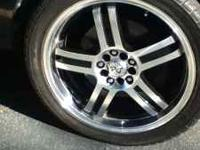 5 Lug, 2 patterns 1 is 5X114.3, other is I think 5X110