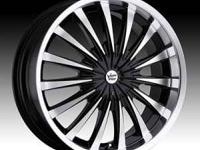 SELLING MY VISION SHATTERED RIMS BOUGHT THEM NEW THIS