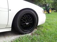 "Hello there I have a complete set on 18"" rims with like"