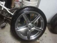 18's rims JUST THE RIMS $250 OR BEST OFFER. MY MECHANIC