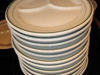 OLD SCHOOL RESTAURANT PLATES Total of 18 plates: I have
