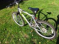 This bicycle is in excellent, like-new condition. It is