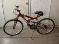 Selling 18 speed mountain bike for $80 OBO . Only used