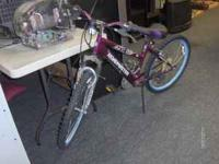 We have a 18 speed Roadmaster bike for sale. It is in