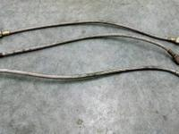 "18"" #4 STEEL BRAIDED BRAKE LINES $5.00 EACH"