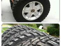 I have a set of new 35x12.50x18 atturo trail blade mt's