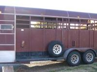 It's a good, solid trailer, suitable for cattle or