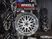 Brand new for a set of 4 wheels.  Size 18x8.5. ET 30.