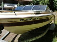 18. Sun Ray 20 hours on Mercruiser 4 cylinder motor new