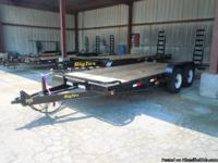 "THIS UNIT IS A 2013 Big Tex 14ET-18BK, 83"" X 18' TANDEM"