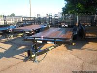 THIS UNIT IS A 2011 Big Tex  7' X 18' TANDEM AXLE,