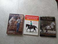 I am selling three books on horses as one lot. The