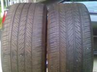 (2) Michelin Pilot HXMXM4 75% tread left