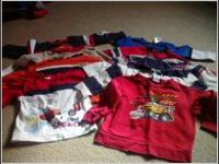 Gently used boys 18 to 2t longsleeve and sweatshirts