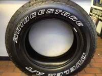 265/65/18 TRUCK TIRES ABOUT HALF WORN , GREAT QUILITY