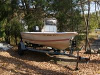 Call Boat Owner Bryan . 18' Well craft center console