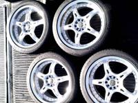 (4) 18 x 7.5 Deep Dish Wheels / Rims with 5 x 100 & 5 x
