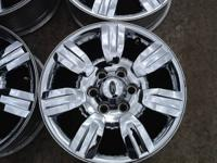 """These are 18"""" Utilized OE 2009-2012 Ford F150 Tires in"""