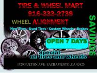 916) 333-2738 CALL US TODAY!!  TIRE & WHEEL MART INC
