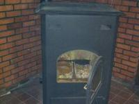 Burn clean anthrocite coal pellets in this stove to