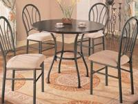 Fantastic deal on this cute dining set set! The Halle