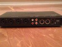 Tascam US-800 Audio Recording Interface. Used