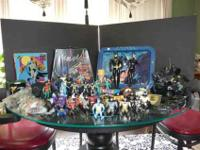 Over 80 pieces of Batman series collection dating from