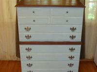NICE DRESSER 4-DRAWERS, SHABBY CHIC/FRENCH