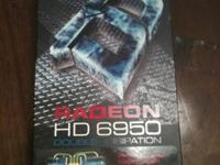 Selling an XFX 6950 Double Dissipation 2GB video card!