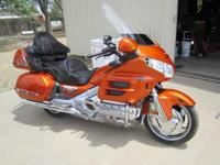 This goldwing is in new condition and rides like a
