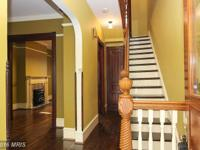 Victorian, historic, 4 story TH w/authentic millwork,