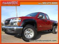Used 2004 GMC Canyon SL Z85 Ext. Taxicab 4WD w/Bed