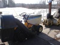 For Sale: 1811 Cub Cadet garden tractor. 18 h.p. Kohler