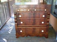 Early Empire Chest, beautifully refinished by