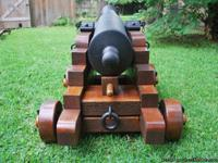 Non- Firing - Full Scale 1841 Six pounder (Concrete