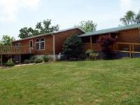 The home sits on 25 acres more/less along a county road