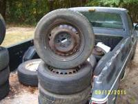 4 tires on dodge neon rims 185- 65 -14 all 4 for