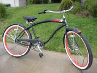 Brand new Beach cruisers.. flat black , with fenders,