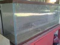 its a 185 gallon tank and stand been sittin on the