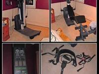 UNIVERSAL EXERCISE HOME GYM - Top of the Line - WEIDER
