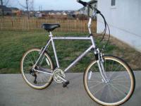 Performance Cross X100 BikeLightweight Aluminum Frame.