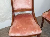 Set of 4 Eastlake Chairs in beautiful condition..A must
