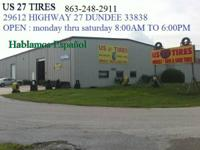 we have new tires size 185-70-14  call US 27 TIRES @