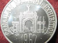 1867-1967 Canadian National Exhibition Commemorative
